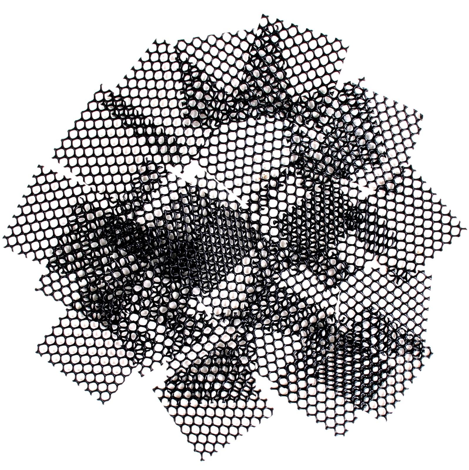 schwarz   61261 Gitter für Drainage Abdecknetz 20 x 30 cm
